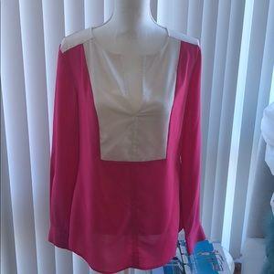 Bebe long sleeved blouse M/L